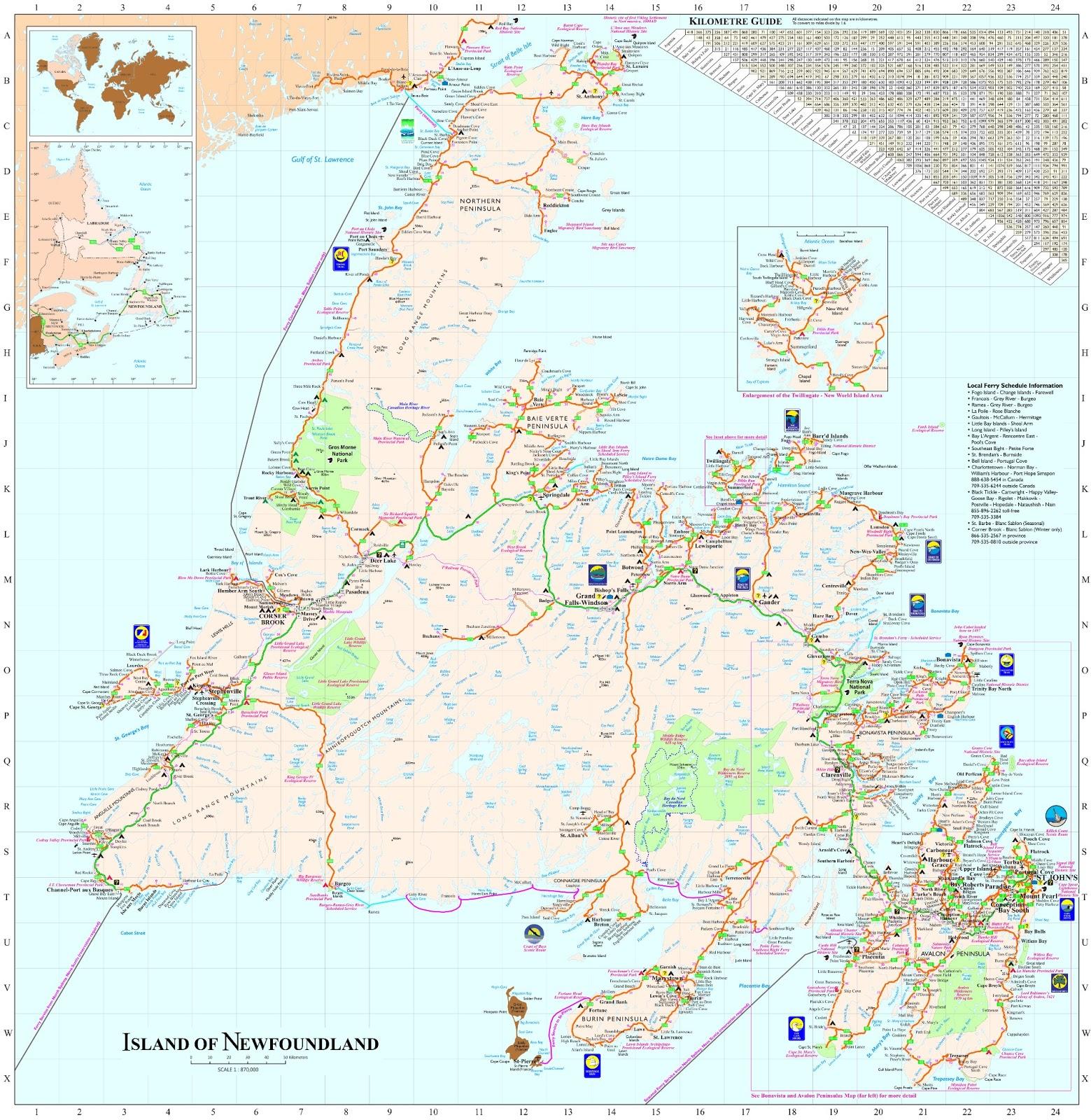 Geomapix Gateway Blog Spot: Newfoundland & Labrador ...