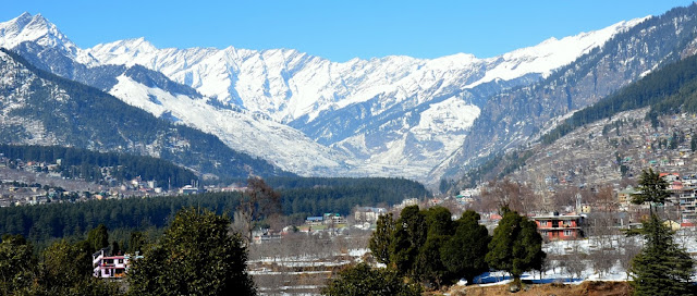 Manali best place for honeymoon in india