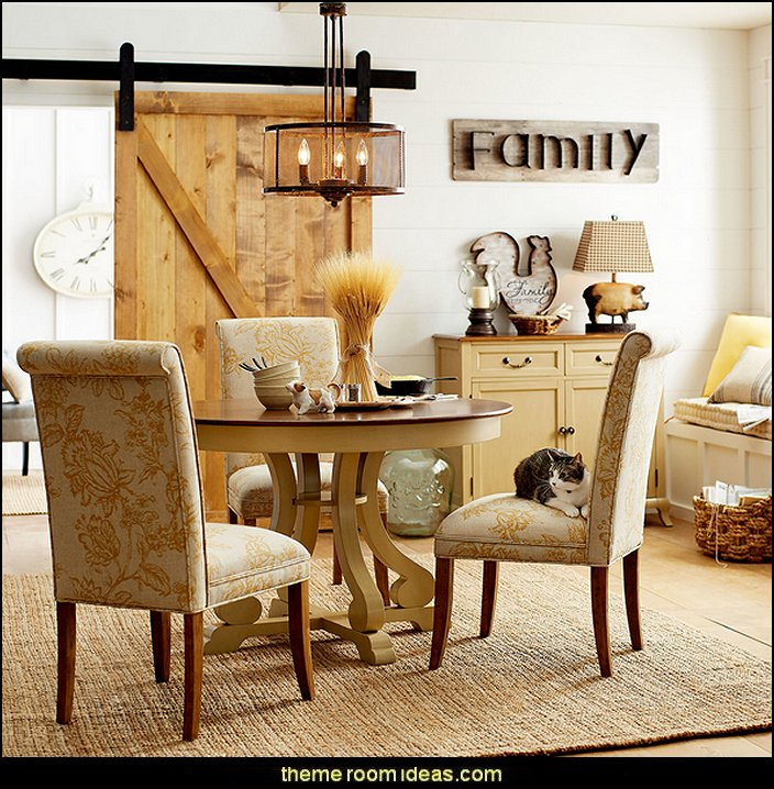 Industrial Farmhouse Living Room: Decorating Theme Bedrooms