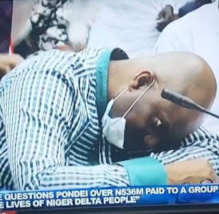 Nigerians Mock Acting NDDC Boss After He Fainted On Live TV (See Some Funny Tweets)