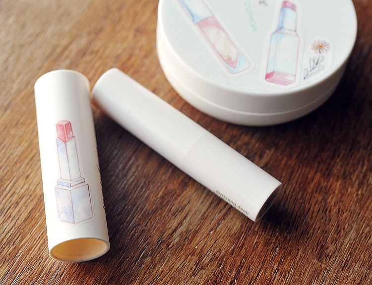 Innisfree Makeup KBeauty Review Beautyblog Creamytint lipstick Redlips
