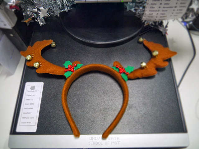 Save the Children's Christmas Jumper Day and Festive Bake Sale - Reindeer Antlers