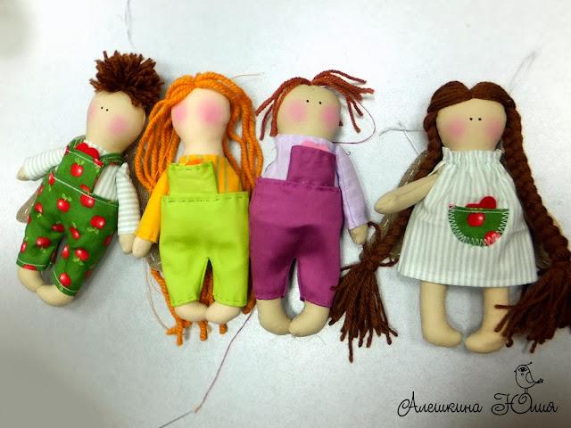 мастер-классы по шитью кукол