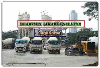 Readymix dan Jayamix cor Jaga karsa Jakarta Selatan