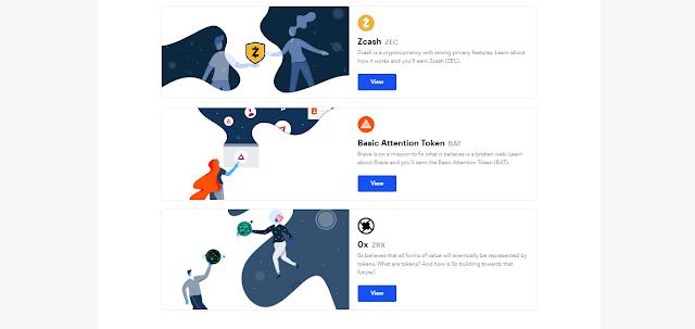 Cara Mendapatkan BAT Tokens, Zcash dan Ox Gratis dari Coinbase