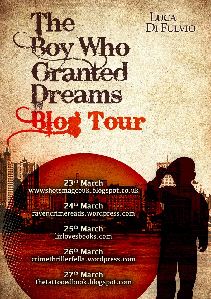 The Boy Who Granted Dreams by Luca Di Fulcio Blog Tour