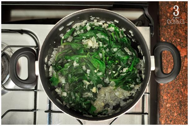 como preparar creme espinafre