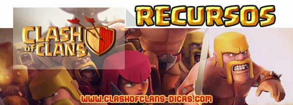 Tudo sobre os Recursos de Clash of Clans