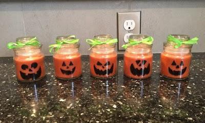halloween candle