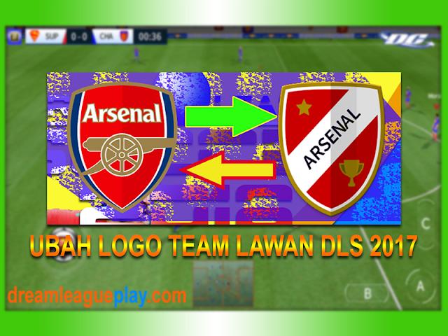 Cara Merubah Logo Team Lawan Pada Game Dream League Soccer 2017
