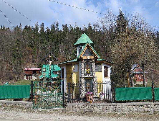 Kaplica pw. Podwyższenia Krzyża Świętego i Matki Bożej Bolesnej z 1850 roku.