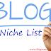 Blog niche ideas