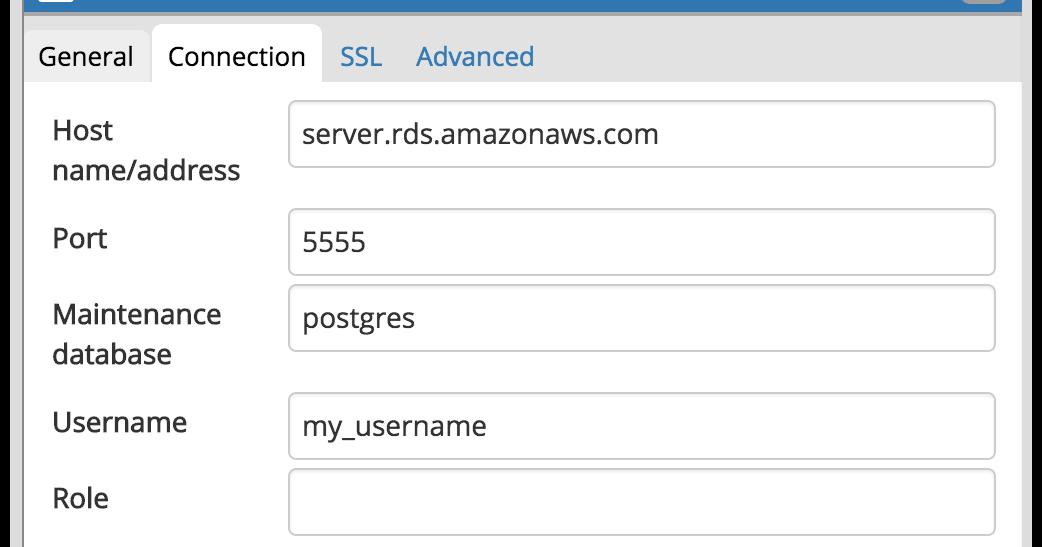 PostgreSQL DB with pgAdmin4 access through SSH tunnel
