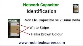 Network Capacitor (नेटवर्क कैपेसिटर) Identification in Hindi
