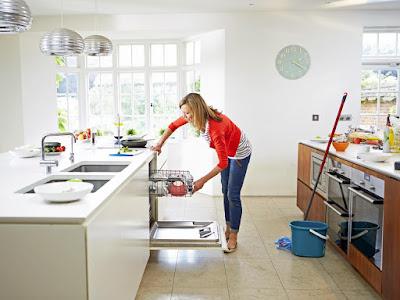 Las tareas de limpieza en el hogar