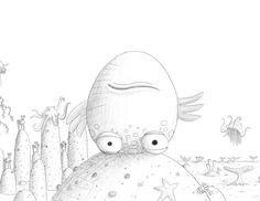 pout pout fish coloring pages