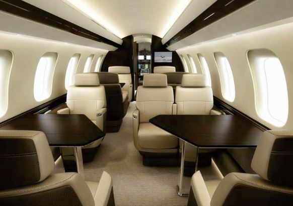 Bombardier Global 8000 interior