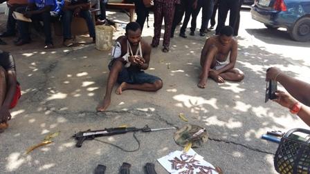 armed robber arrested inside hospital