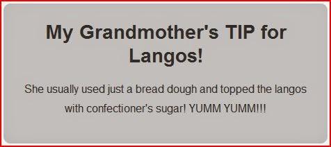 grandmothers tip for langos