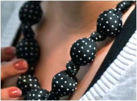 Recycle A Neck Tie Into A Necklace And A Wallet The