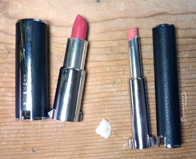 Givenchy Le Rouge vs. Le Rouge-a-Porter comparison