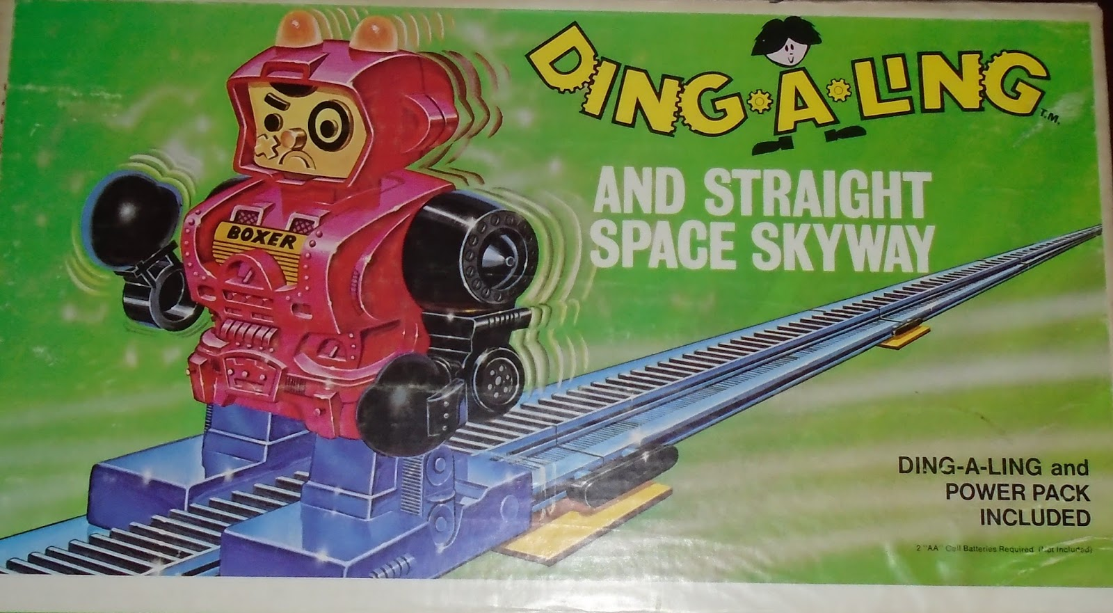 memory bank ding a ling robots topper 1970