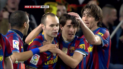 LFP-Week-28 Barcelona 2 vs 0 Osasuna 24-03-2010