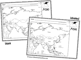 FREE Printable Blank Maps