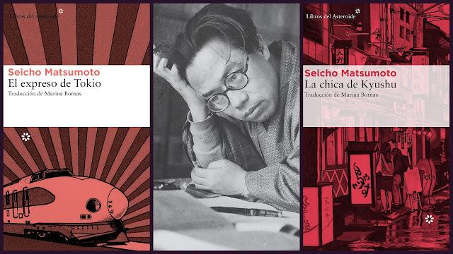 """Seicho Matsumoto, novela negra japonesa del siglo XX, """"El expreso de Tokio"""""""