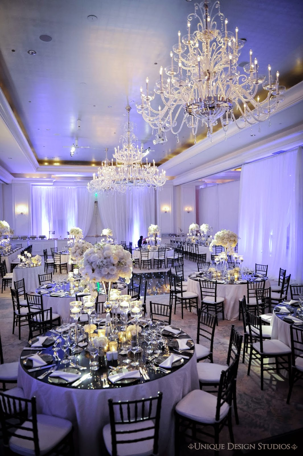Tiffany Cook Events NFL Clients Trend Setting Black Amp White Wedding