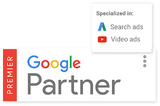 Premier Google Partner badge