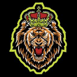 logo singa keren 3d