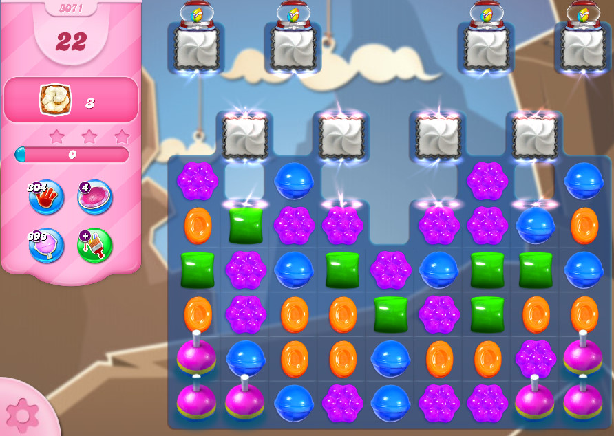 Candy Crush Saga level 3071
