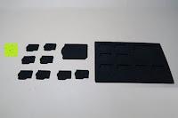 viele Teile: Premium Schützendes Gehäuse für Aluminium Speicherkarte Tragetasche mit anpassbarem Innerem von CamKix - Organisieren und schützen Sie Ihre SD-Karten, Micro SD-Karten, Memory Stick und Compact Flash (CF) Speicherkarten (Kompatibel mit allen Speicherkarten Marken wie Sandisk, Transcent, Kingston, Sony, Lexar usw.) enthält den Speicherkarten Gehäusehalter / 4 Benutzerdefinierte EVA Einsätze / Klebesticker - Ideal für Reisen oder Aufbewahrung zuhause