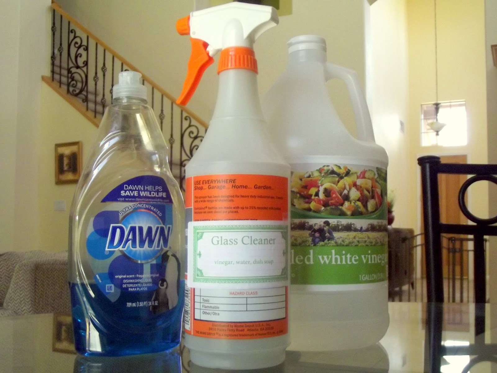 Glass Cleaner and Degreaser