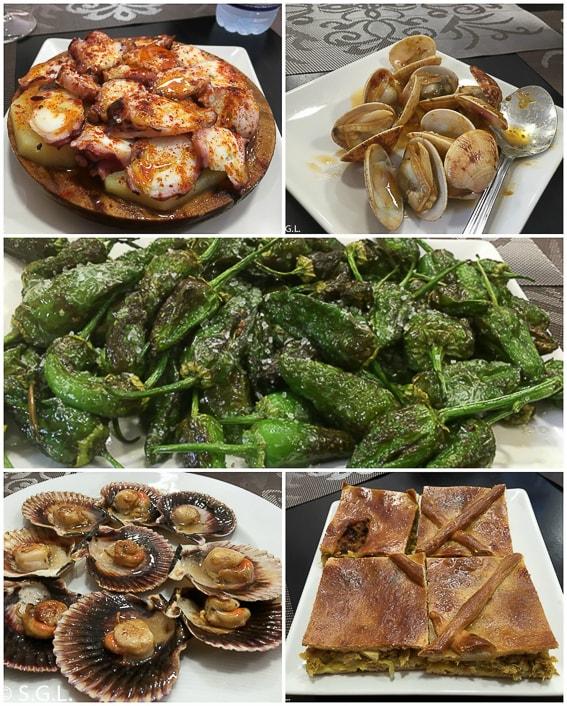 Gastronomia de Cambado. Galicia