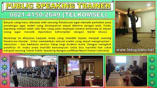 Public Speaking Surakarta