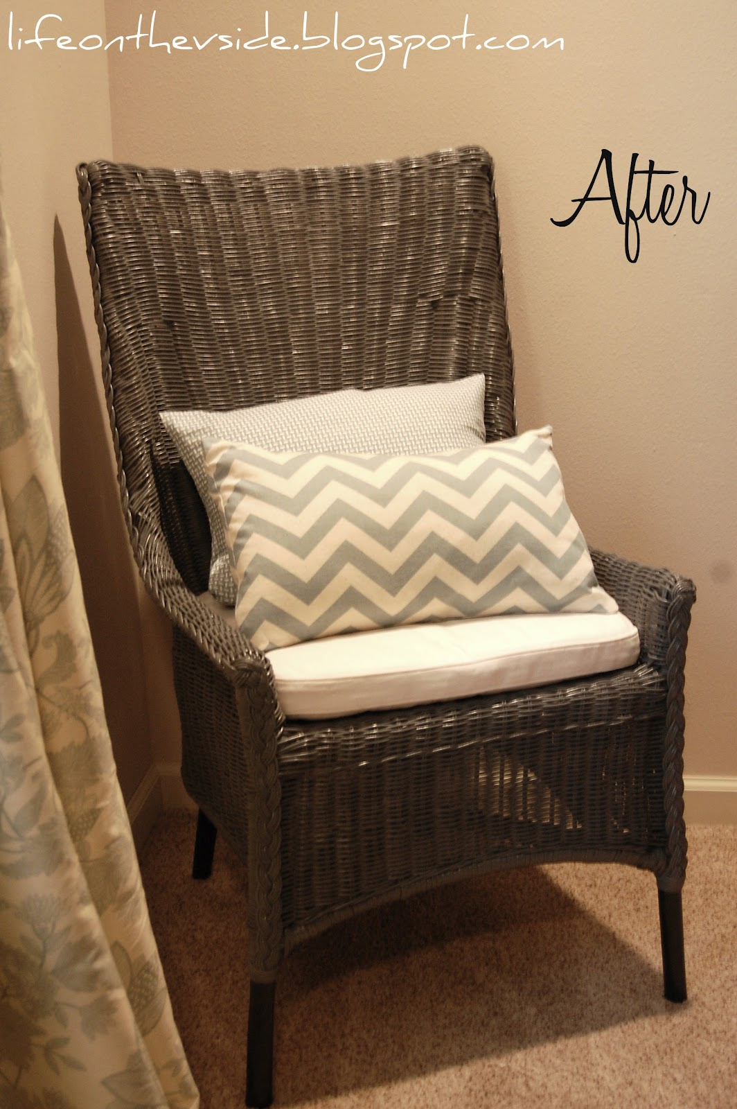 wicker kitchen chairs kitchen chairs cheap Kitchen Chairs On the Cheap Before After On The V Side