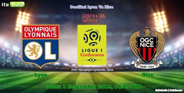 Prediksi Lyon Vs Nice - ituBola