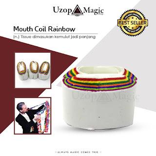 Jual alat sulap mouth coil - uzop magic shop
