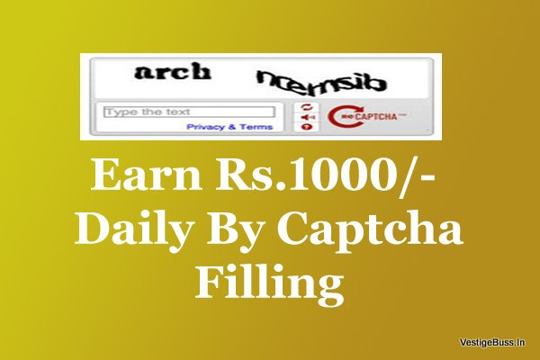 Top 10 CAPTCHA Filling Jobs