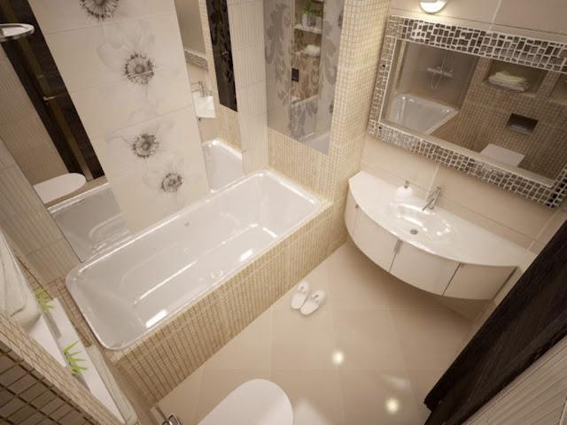 Phòng tắm nhỏ- mẫu 2