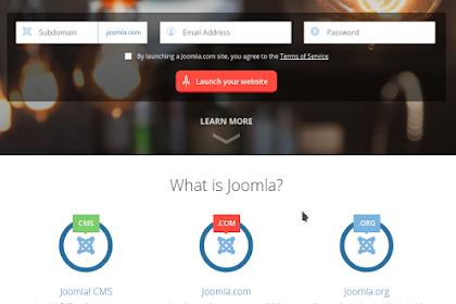 Perbedaan Joomla.Com, Joomla.Org dan Joomla CMS