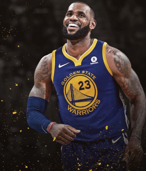 check out eeb1e 0de22 What LeBron James Looks Like Photoshopped On Every NBA Team ...