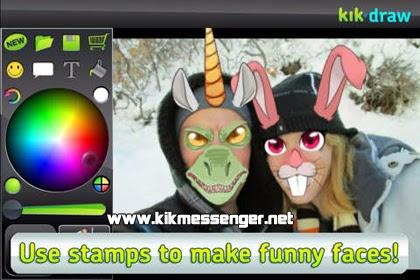 Crea memes con Kik'n Draw para iOS