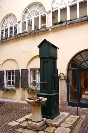 autriche klagenfurt carinthie cour intérieure