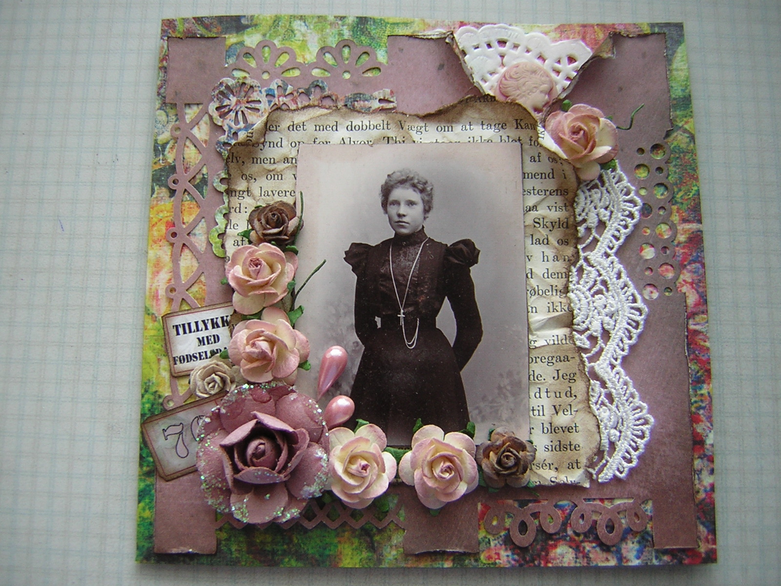 Lises scrap: 70 års fødselsdag