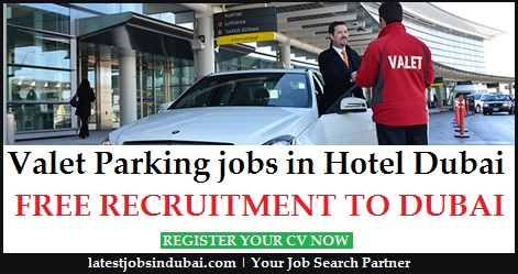 Valet Parking Driver jobs in Hotel Dubai
