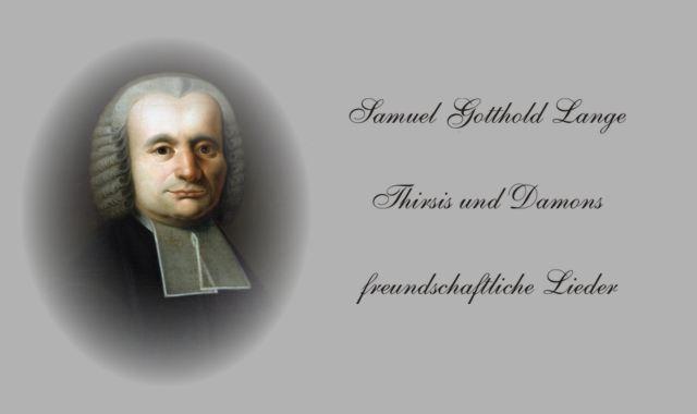 """""""Thirsis Damons-freundschaftliche Lieder"""""""