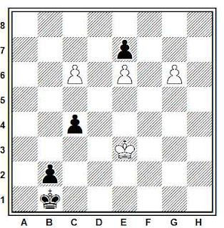 Problema ejercicio de ajedrez número 770: Estudio de A. Kraemer (Denken un Raten, 1929)